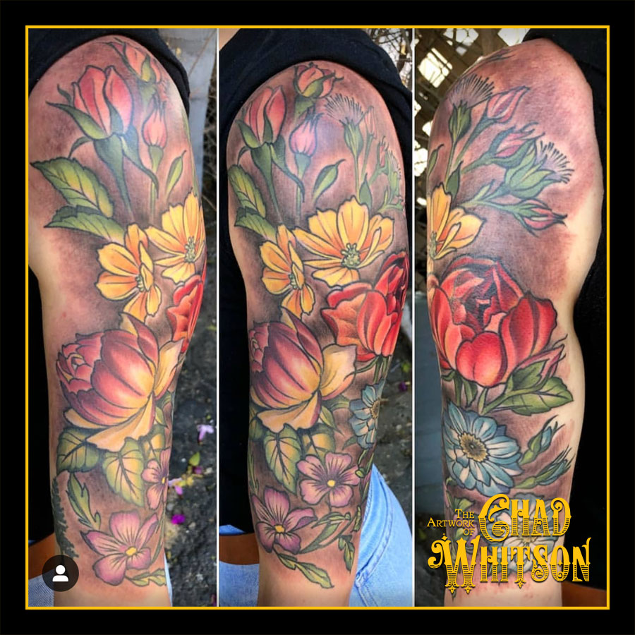 Color Illustrative Tattoos Chad Whitson S Balancing Act Tattoo Craft